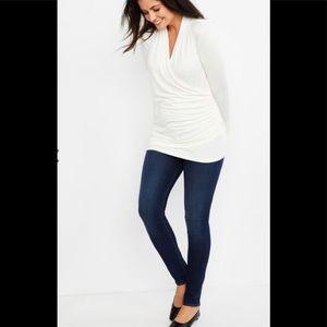 J Brand Maternity Skinny Jeans Starless ✨ Sz 30